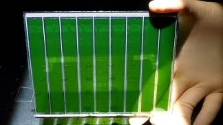 Green dye-sensitized solar cells © 2011 EPFL