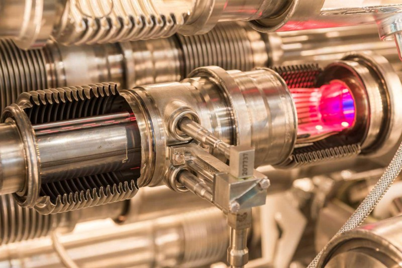 The BASE experiment at CERN compares protons and antiprotons with high precision