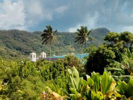 In Rikitea, French Polynesia, precipitation increased by 50 percent between the