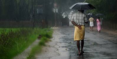 The monsoon season in India: Extreme precipitation could increase there because
