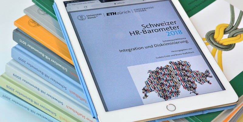 The HR Barometer measures how employees in Switzerland experience their work sit