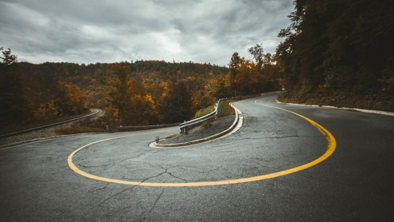 A curvy mountain road needs a different kind of pavement than a truck lane on a