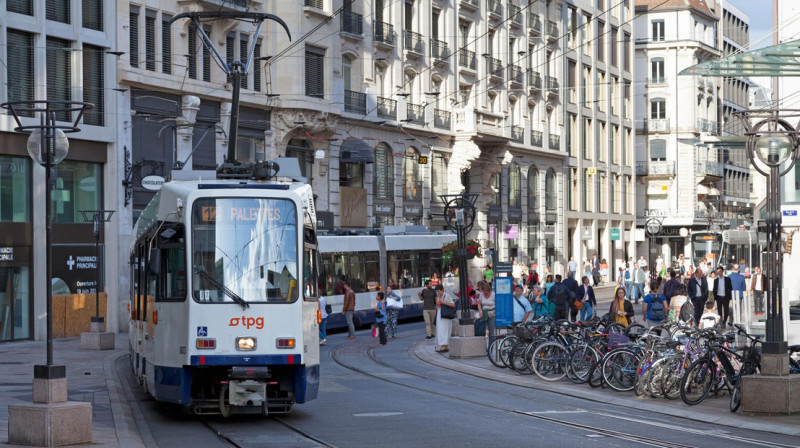 Geneva's commuters embrace multimodal transport