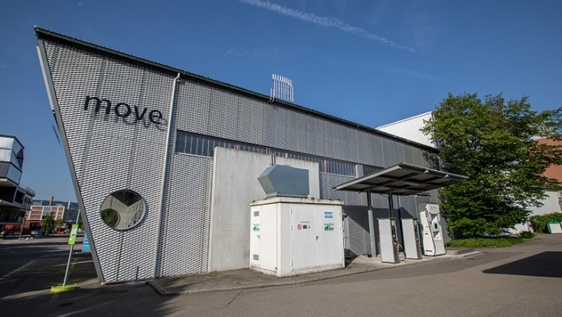 The 'move' research and demonstration platform at Empa in Dübendorf