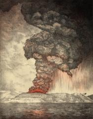 In the short period between 1808 and 1835 five large volcanic eruptions occurred