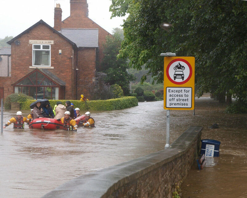 Morpeth floods 2008 (Copyright: johndal / Flickr CC BY-SA 2.0)