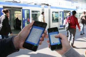 Month-long tests of the new app will begin today in partnership with Transports