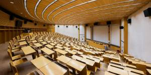 Empty lecture halls: Lectures will take place online from 2 November. (Picture: