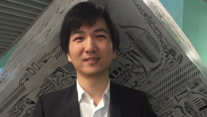 The former Empa doctoral student Fan Fu was awarded the ETH medal at this year&r
