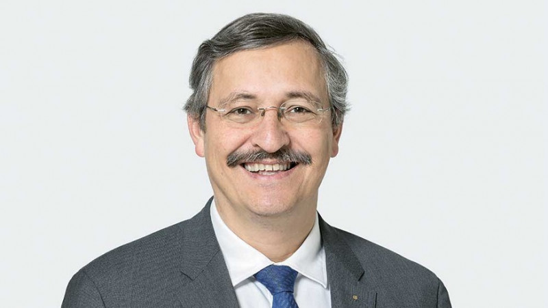 Michael Hengartner, Rector of the University of Zurich and President of the ETH