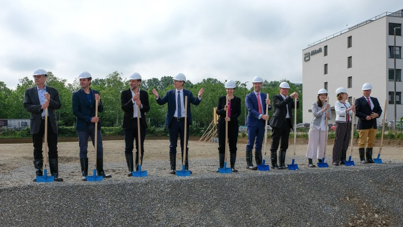 Groundbreaking Ceremony for the New Building of the Swiss Tropical and Public He
