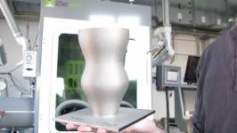Metal 3D printers with DED technology make it possible to produce complex shaped