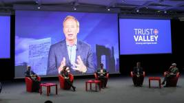 La Trust Valley a été officiellement lancée ce 8 octobre. A l' Brad Smith, p