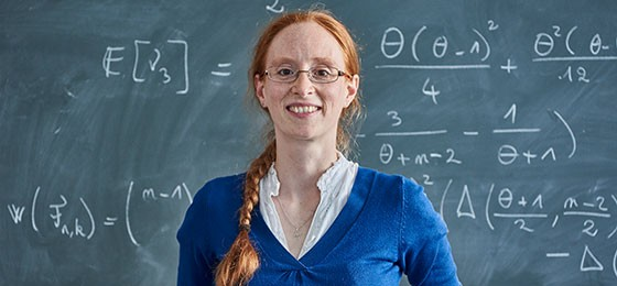 Mathematician Mathilde Bouvel is to receive the 2017 Marie Heim-Vögtlin Prize
