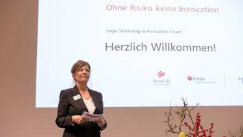 Gabriele Dobenecker, Abteilungsleiterin Marketing, Wissens- und Technologietrans