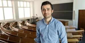 The Iranian Mohsen Ghaffari is one of the youngest's of all time at ETH Zurich.