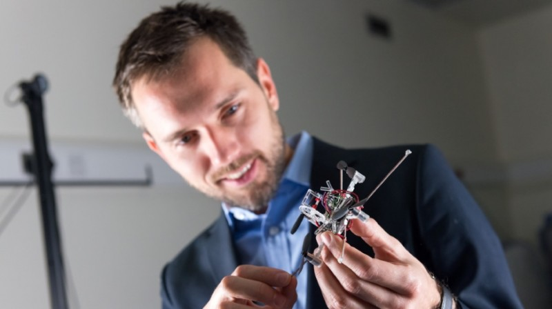 Robotics researcher Mirko Kovac will be heading the new 'NEST Aerial Robot