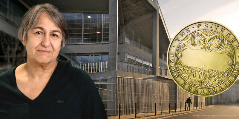 Anne Lacaton is only the sixth woman to receive the Pritzker Prize, and the firs