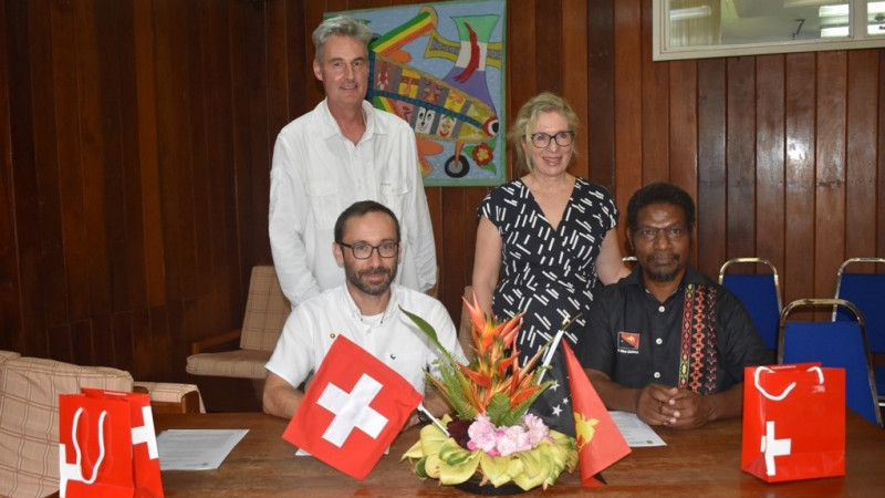 Swiss TPH and PNGIMR look back on a successful partnership with many collaborati