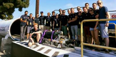 The Swiss student team finishes the Hyperloop Pod competition in third place! (