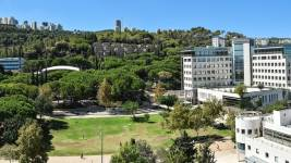 The Technion campus on Mount Carmel in Haïfa. DR