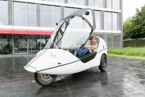 The Twike - half-bike and half-car - is now even more comfortable