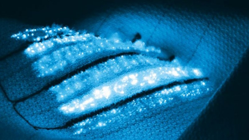Cover Photo: Textiles with highly sensitive sensors can measure physiological pa
